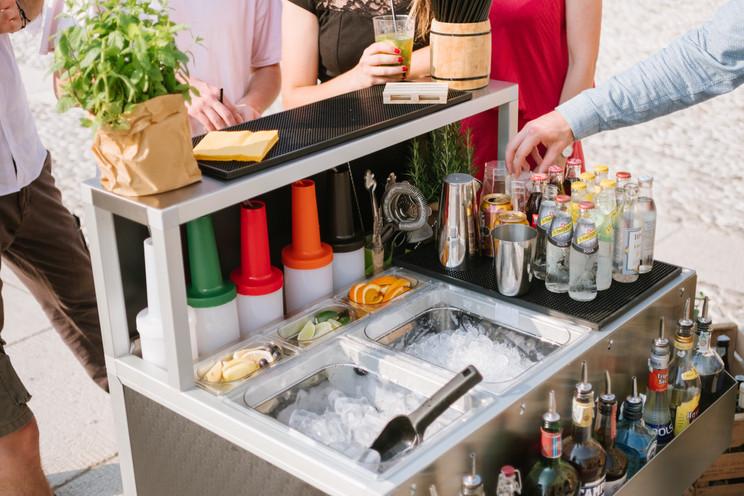 Omega 9 cocktail bar piccolo  smontabile