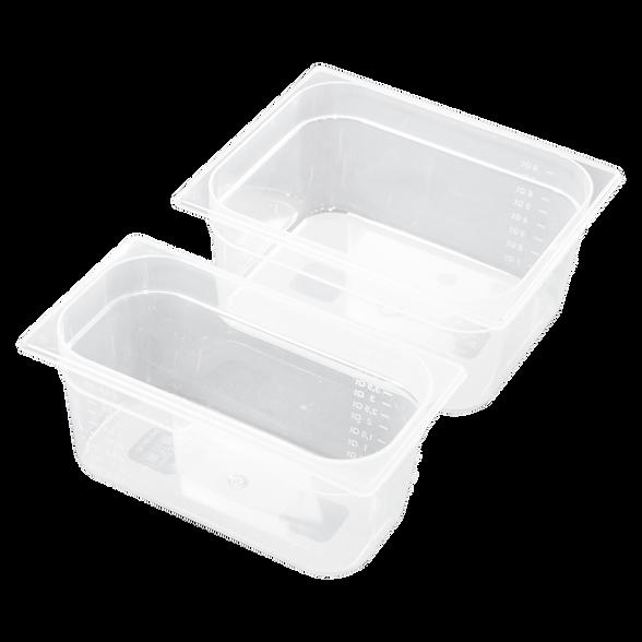 Bancone bar in cartone con vasche per ghiaccio, alimenti, economica trasportabile
