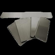 workstation acciaio inox pannelli tappi per chiudere le vasche per un piano di lavoro ampio