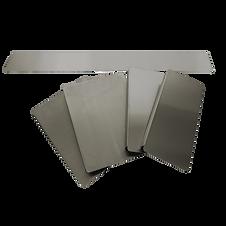 workstation acciaio inox pannelli tappi
