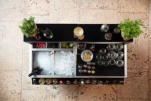 Cocktail Station Omega 12 da Catering 1200 mm