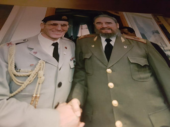 כששמעון חפץ פגש את פידל קסטרו