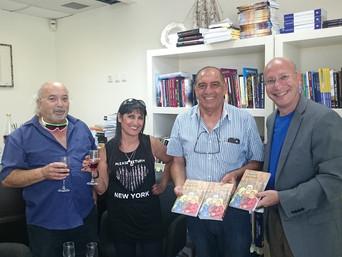 """השקת המהדורה באנגלית לספרו של יצחק ברוך """"Hisne"""""""