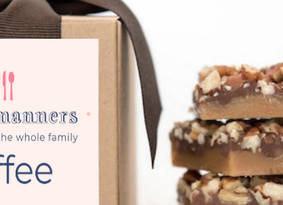 Table Manners Toffee Gift Box