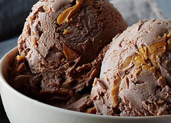Chocolate Peanut Butter + Pretzel Gelato