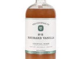 Rhubarb Vanilla Cocktail Mixer