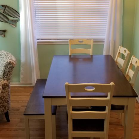 Dining Area (new lighting!)