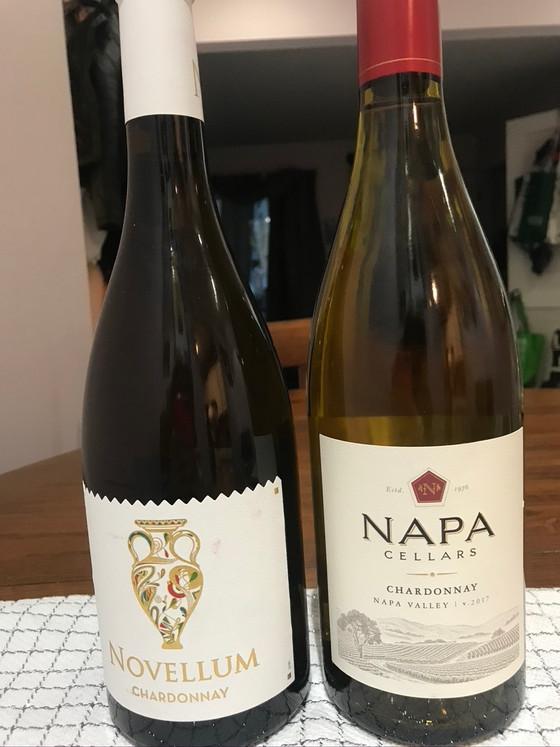 French vs. American Chardonnay-off