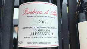 2017 Barbera d'Alba from Gianfranco Alessandria