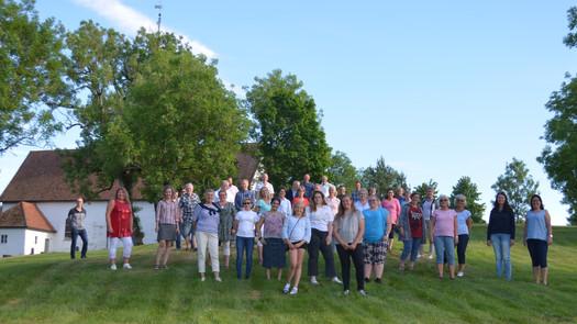 Skjeberg kirkekor og Exodus ved Skjeberg kirke vår 2018