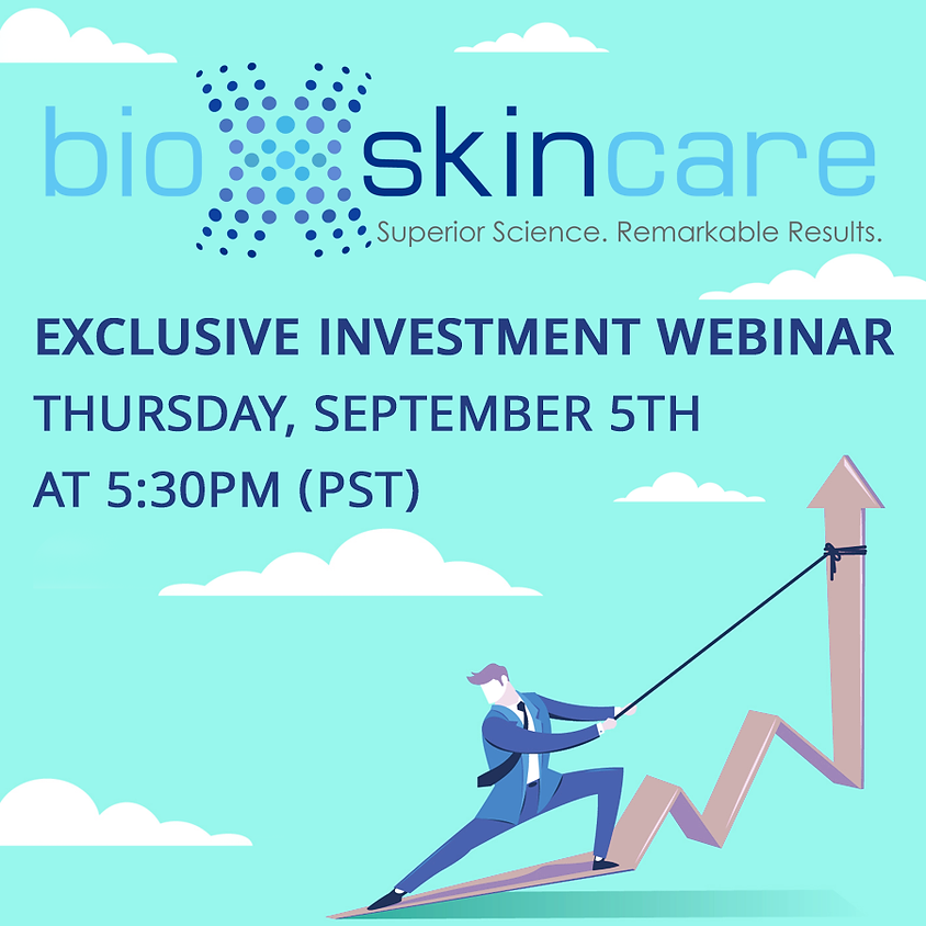 EXCLUSIVE INVESTMENT WEBINAR