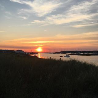 Cuttyunk Channel Sunset