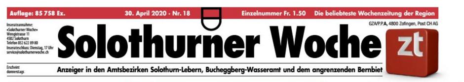 "Bericht aus ""Solothurner Woche"""
