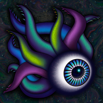 """""""Creepin' through the ether..."""" Digital painting"""