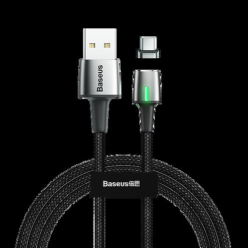 Cabo Magnético Para USB Type C 2A 2m Preto