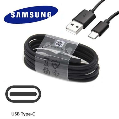 CABO DE DADOS SAMSUNG USB PARA USB TIPO C 1.5M, PRETO, ORIGINAL