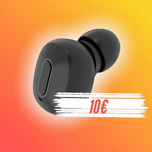 Dudao mini fone de ouvido - Preto