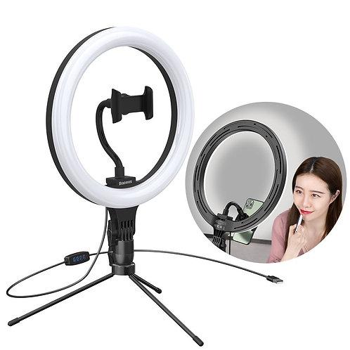 Ring Light com tripé luz lâmpada LED 10 '' para smartphone (YouTube, TikTok) +