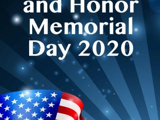 Monday May 25, 2020