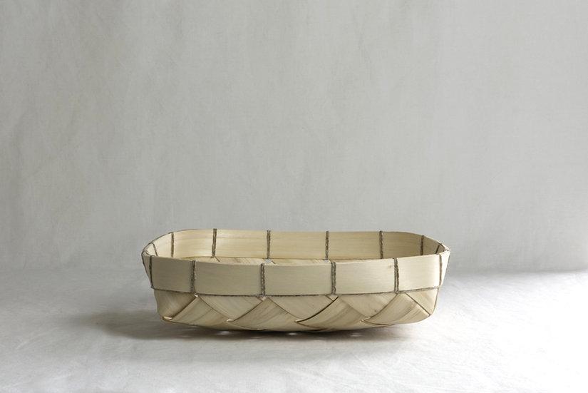 Schale aus Kastanienspan
