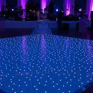 LED Sparkle Dance floor