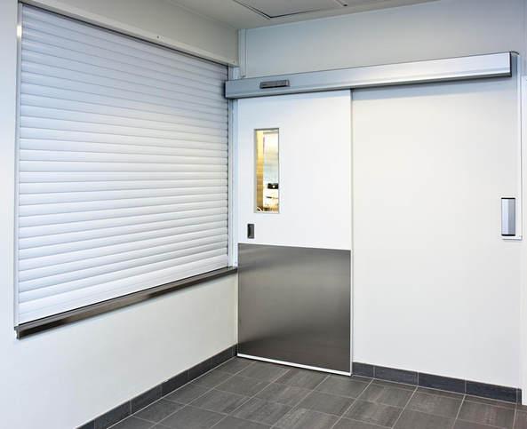 GRP Sliding Doors