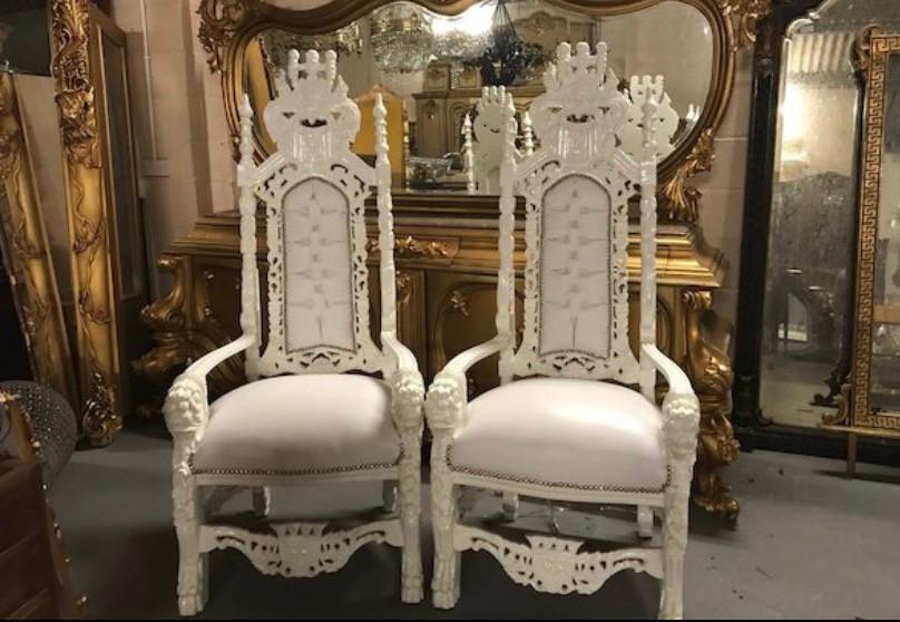 Bride & Groom Thrones