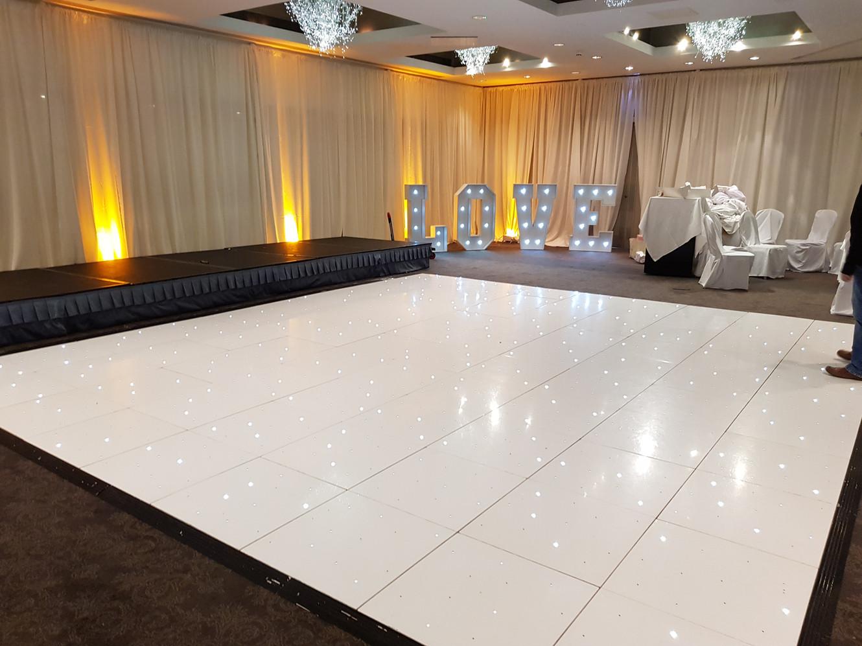 LED Sparkle Dance Floors