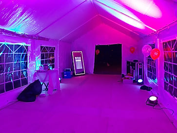 Marquee Interior Decoration