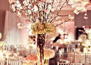 Cherry blossom centre piece