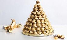 Fererro Rocher Pyramid