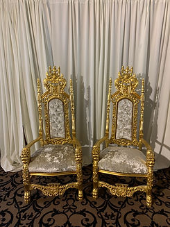 Bride and Groom Thrones