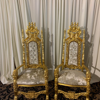 Bride and Groom Thrones