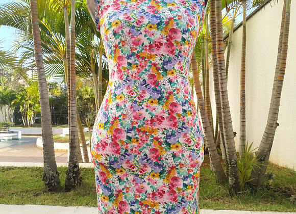 Vestido Feminino Florido Zara - Tam P