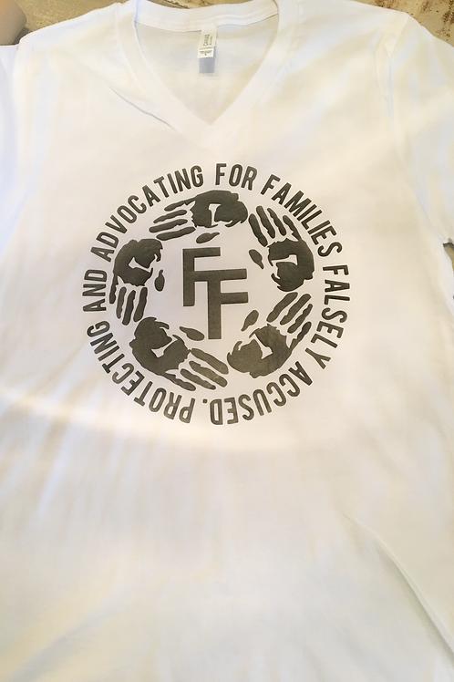 Fractured Families T-shirt (v-neck)
