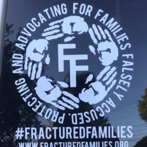 Fractured Families Decal- 8 inch
