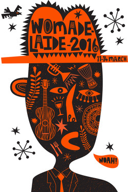 Womad 2016 - T-shirt design