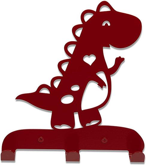 Dinosaur Kids Hook Rack T Rex Lightweight (red)
