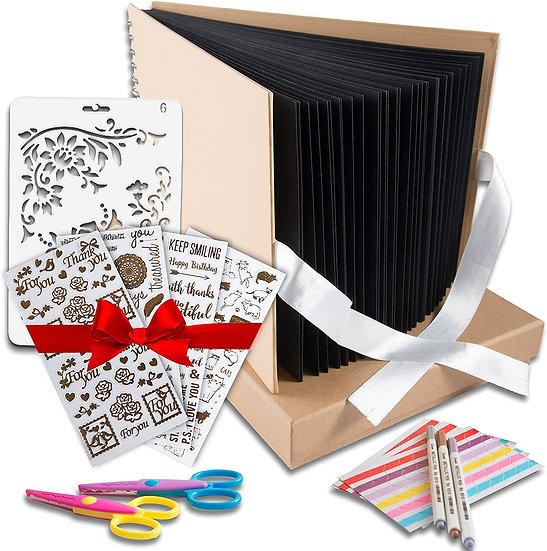Scrapbook Photo Album DIY Kit