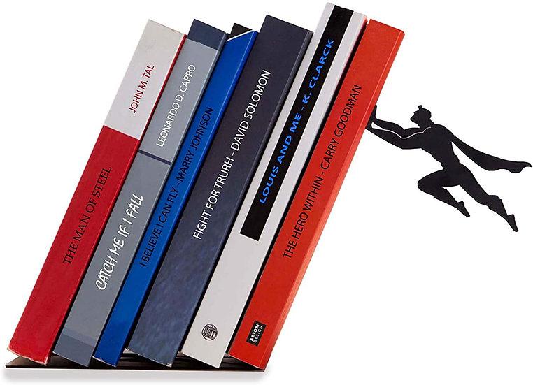 Decorative Bookends for Shelf or Desk - Superhero Bookend