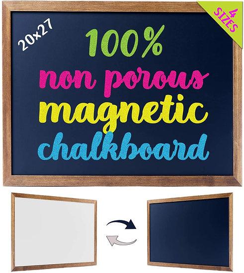 "Cedar Markers 27""x20"" Framed Chalkboard Sign"