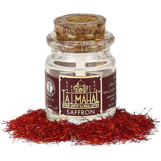Taj-Mahal Spanish Saffron Pure Threads Spice - 1 gr Jar Pack