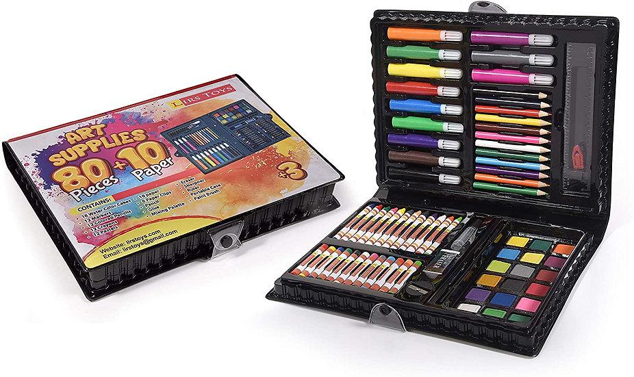 Art Set for Kids - 80 Pieces of Art Supplies