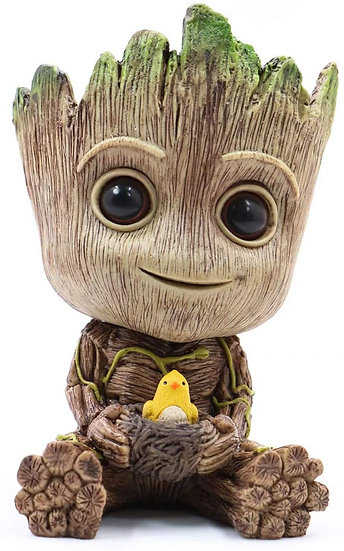 Groot Planter Pot Succulents Flowerpot Baby Groot Bird Nest
