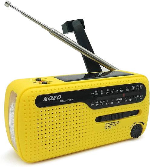 Best NOAA Weather Radio for Emergency by Kozo - Yellow