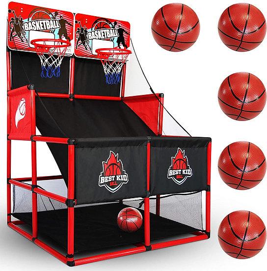 Indoor Basketball Game - Double Shot Basketball Arcade