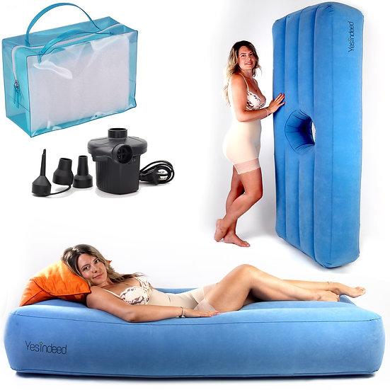Inflatable BBL Mattress + Air Pump