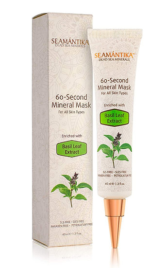 Mineral Face Mask anti wrinkle cream, 60 Seconds Mask