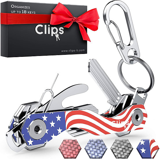 USA Flag Key Organizer