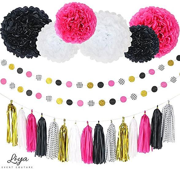 Party Decorations Kit – 23 Pcs.